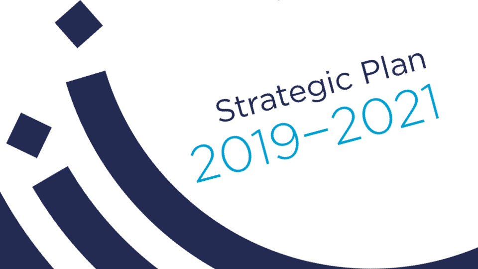 Strategic Plan 2019 - 2021 cover page