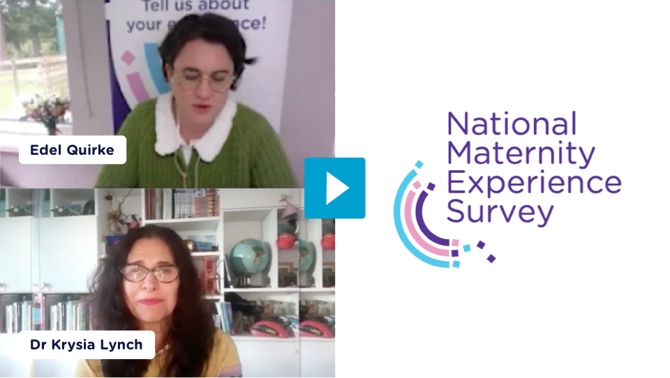 Women representatives give their views on the results of the National Maternity Experience Survey 2020